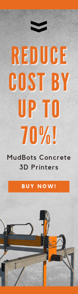 reduce your production costs by 70% with mudbots 3d concrete printers