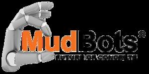 mudbots 3d concrete printing logo