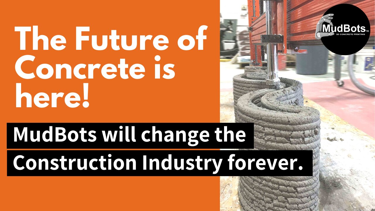 3D Printing will change the Construction Industry forever! MudBots is the first American Company to Premiere its Concrete 3D Printing Technology at the World of Concrete Exhibit that took place in Las Vegas Conviention Center last January 2019.