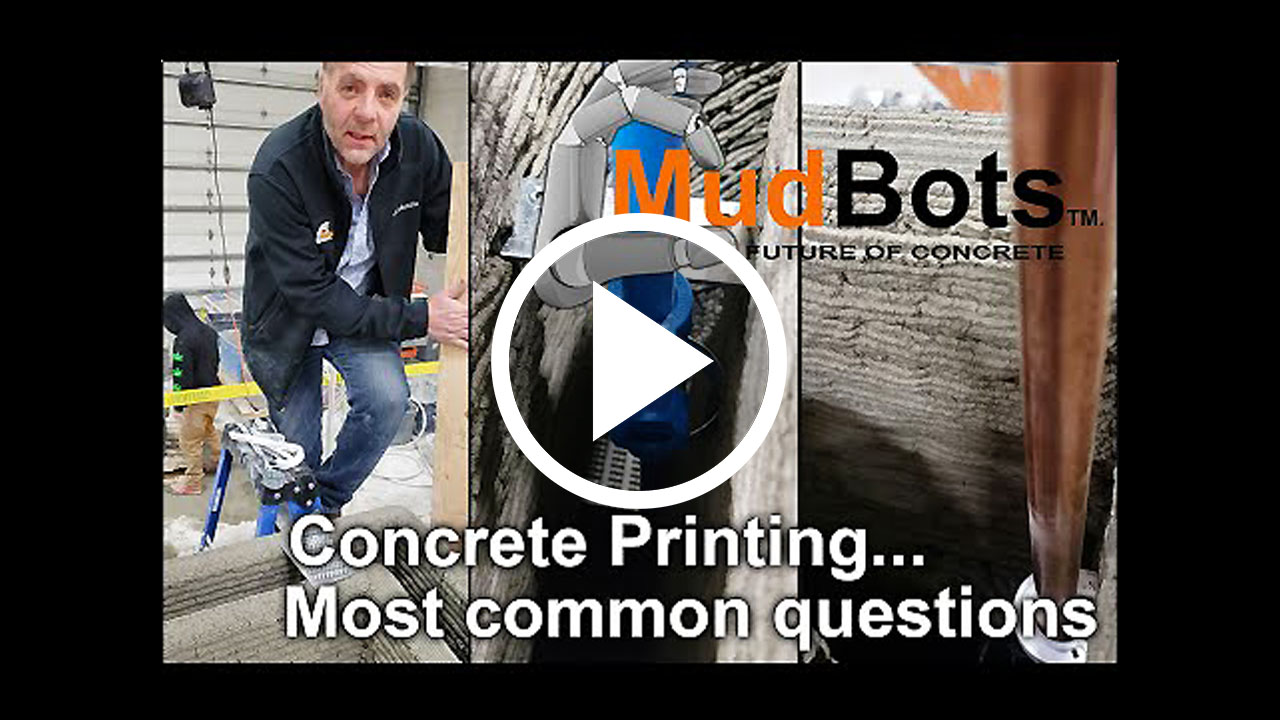 Concrete Printing - Construction Methods, Top plate, Footings, Plumbing, Headers and more