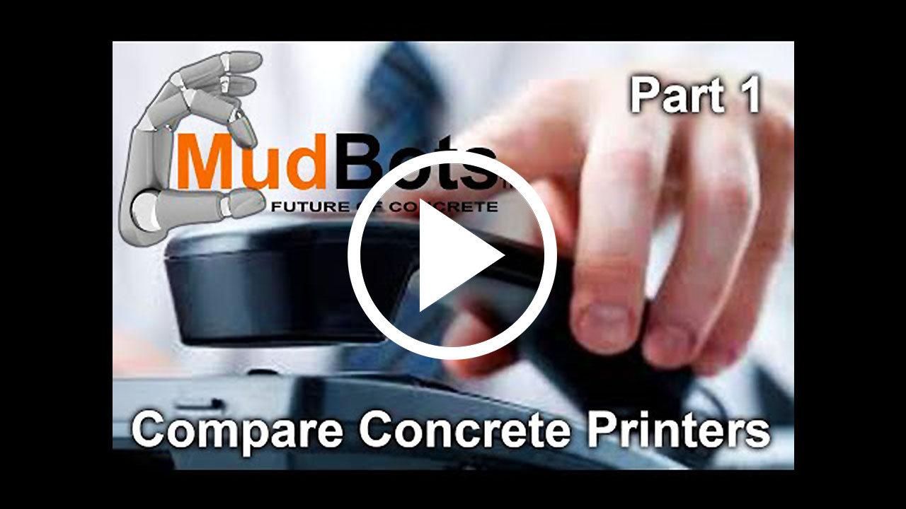 Compare Concrete Printer Companies Part 1