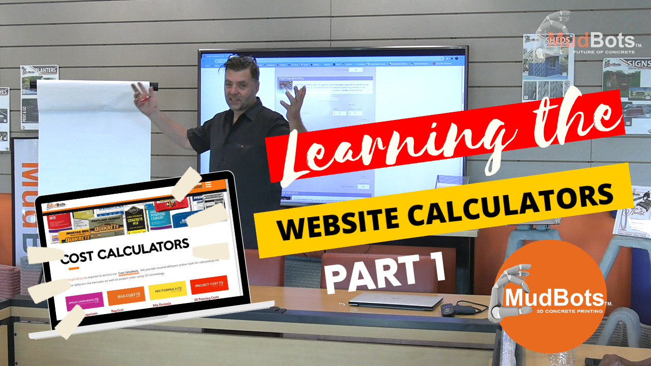 Learning the Website Calculators