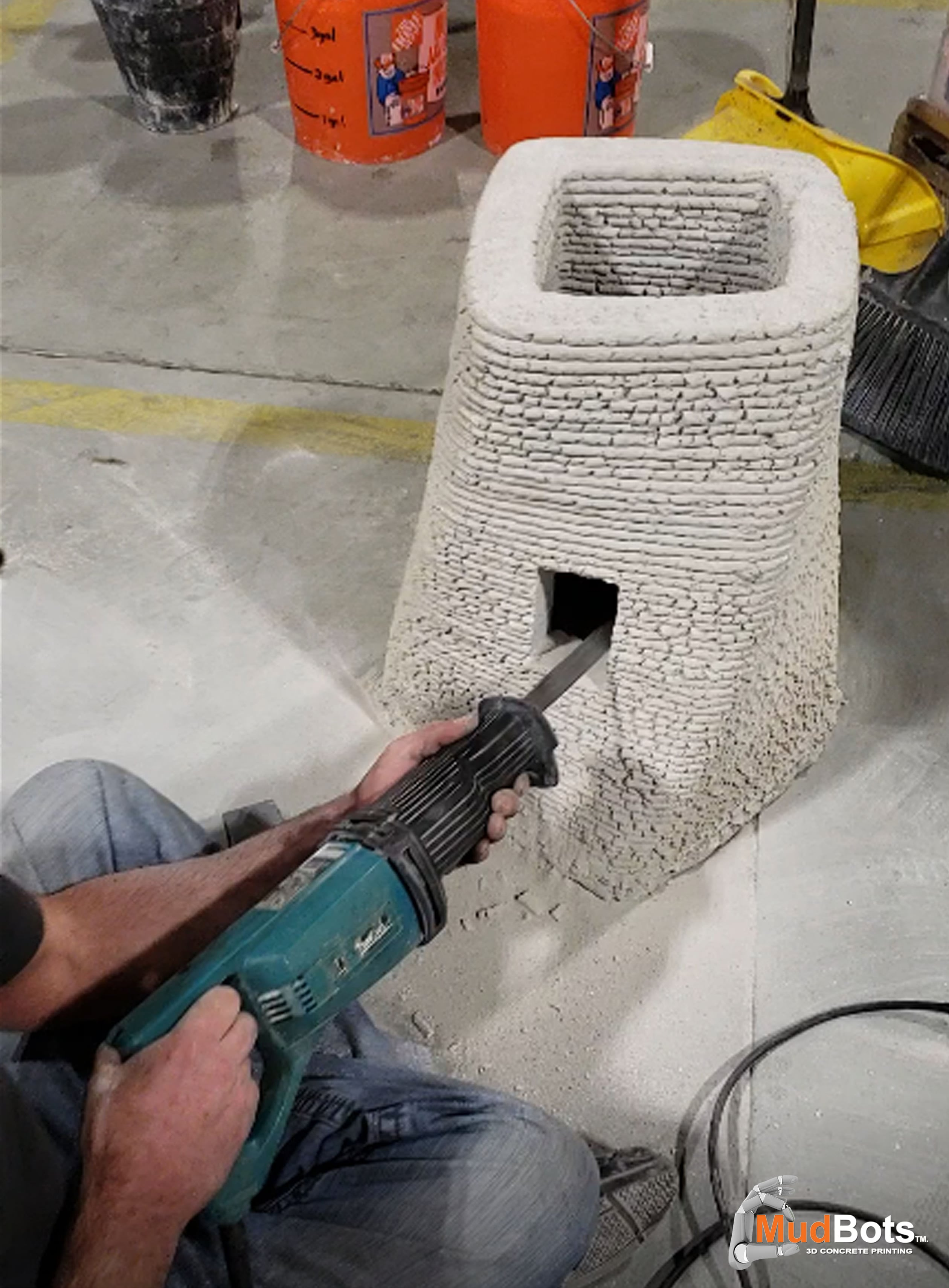 Add any design on your mind to your printed concrete structures