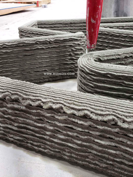 Design homes with innovative design like wavy, zigzag walls. Build it using 3D Concrete House Printer and finish it in a third of a time it takes using traditional construction method