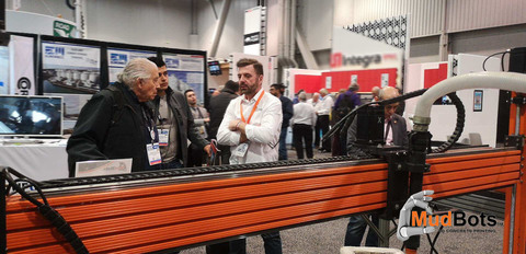 Mudbots at the World of Concrete 2019