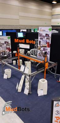 Mudbots at World of Concrete 2019
