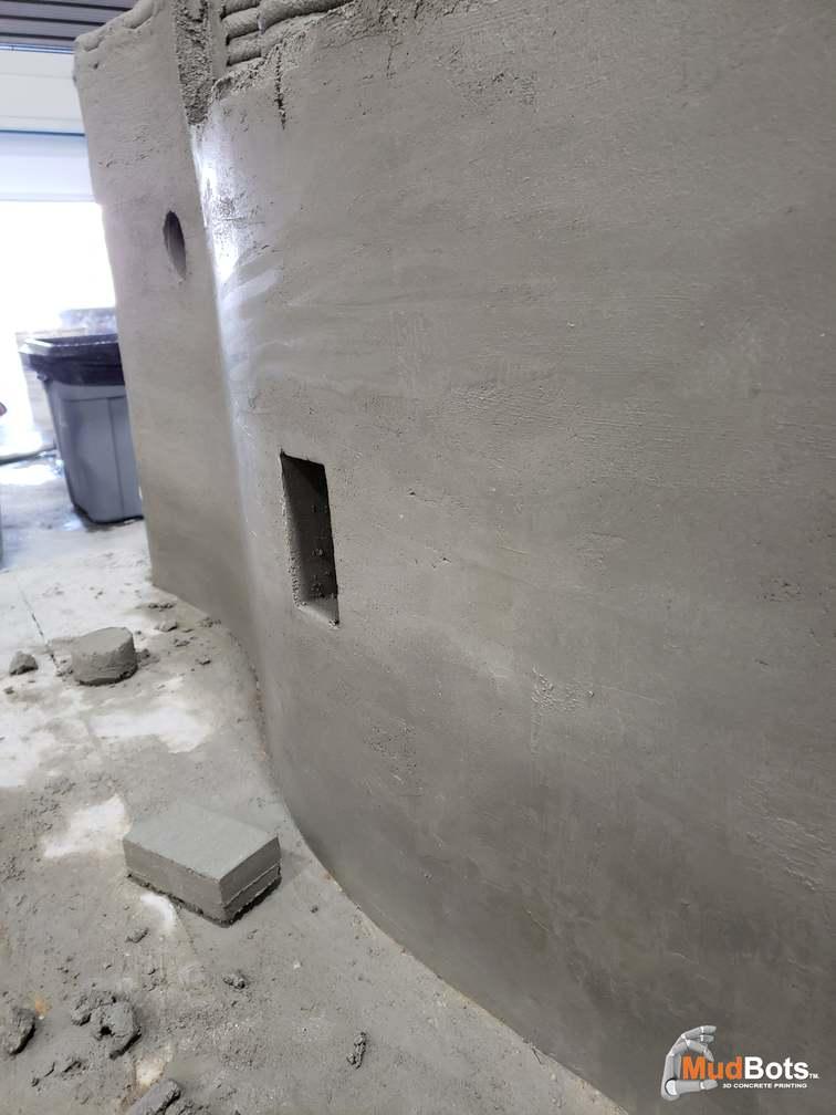Mudbots 3D Concrete Printer