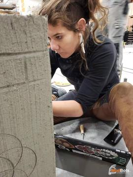 3D Concrete Printing and Arts