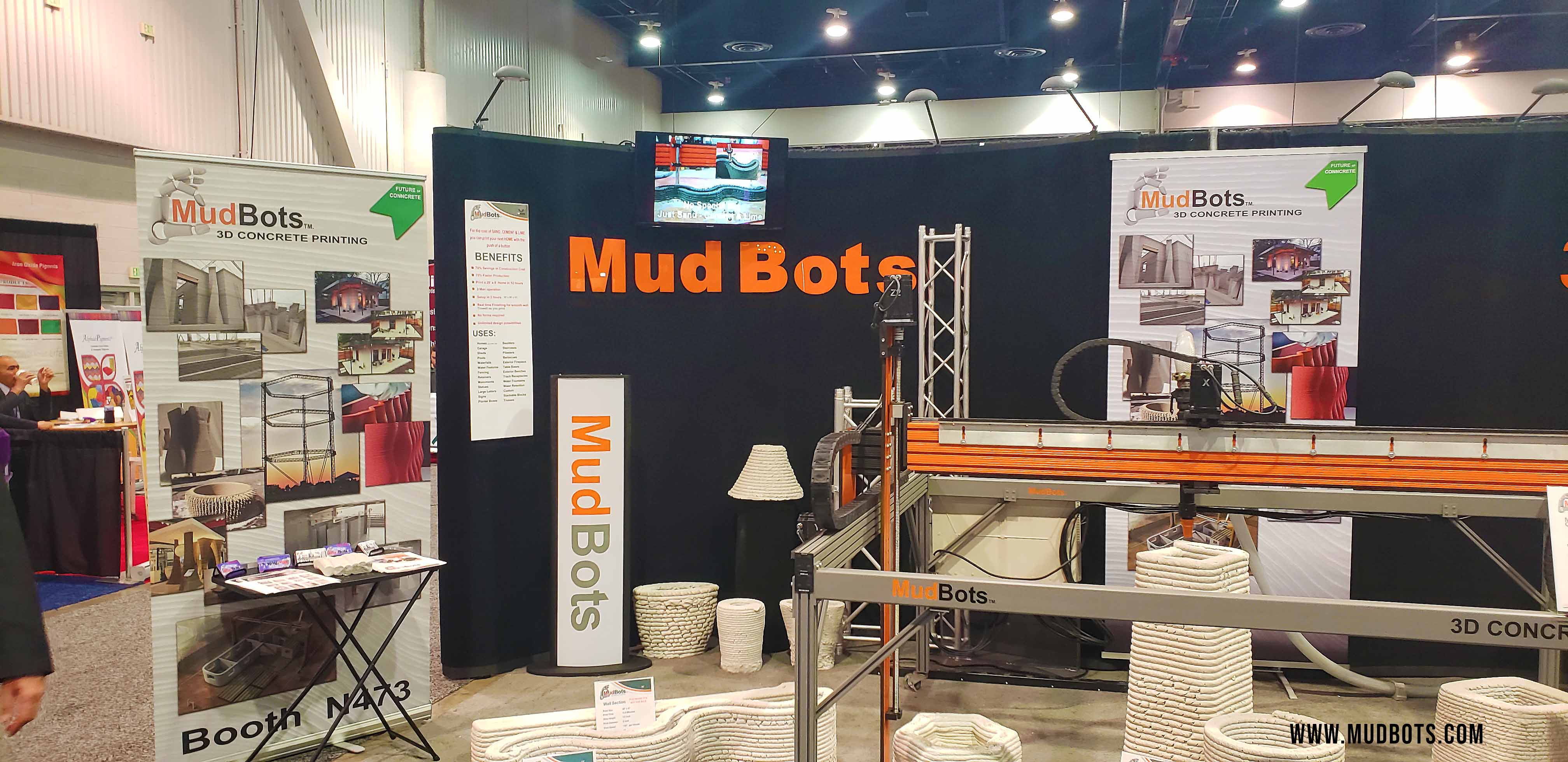 Mudbots at World of Concrete 2019 Exhibition 2