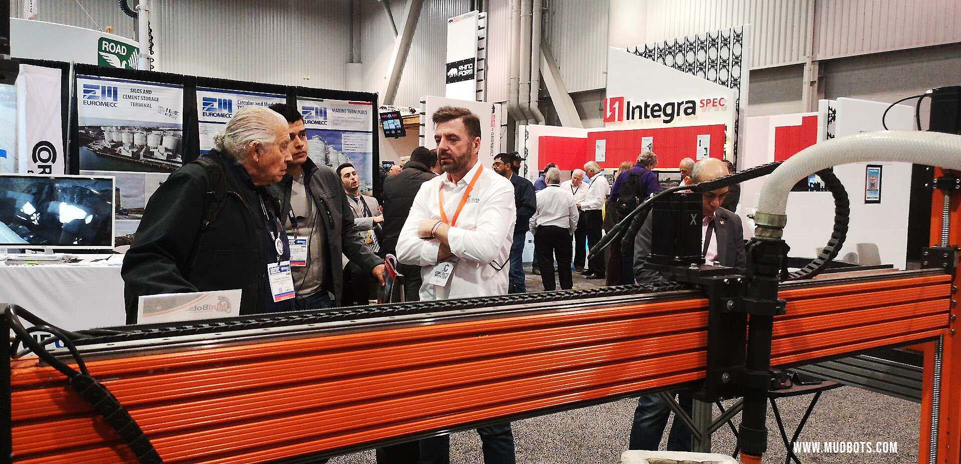 Mudbots at World of Concrete 2019 Exhibition 3